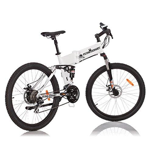 fatbike ebike FLYING DONKEY Pedelec e-Bike Full-Suspension Mountainbike Elektro-Fahrrad Elektrisches Klapprad 250 Watt