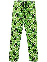 Minecraft Pantalones de Pijama para Hombre