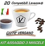 Cápsulas compatibles con Lavazza Espresso Point®, Kit Degustación de 20 cápsulas de...