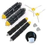 Kit ruote anteriori e kit spazzole per iRobot Roomba 500 600 700 Serie 529 550 595 620 625 630 650 660 760 770 780 790 Accessori per aspirapolvere (Genere 1)