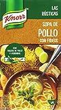 Knorr Las Rústica Sopa de Pollo con Fideos - Paquete de 8 x 1 L - Total: 8 L
