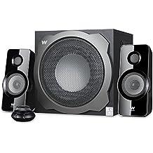 Woxter Big Bass 260 S - Altavoces multimedia (2.1, potencia 150W, 90- 20000 Hz), color plateado