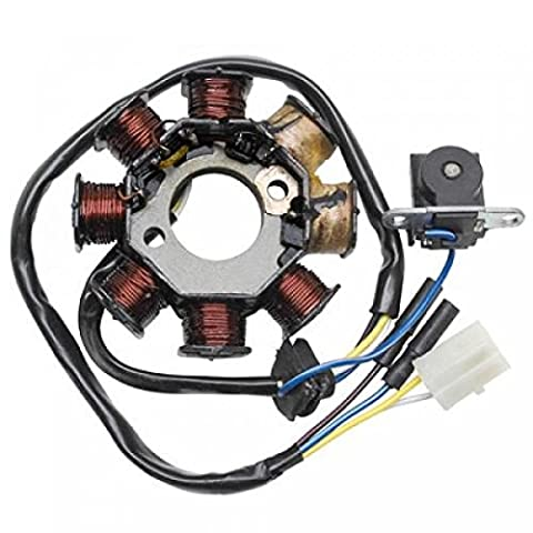 Ignition Stator Ignition Sym Orbit for 50 cc NC State New Stator 15155 8 Poles Motor Scooter 4-stroke. Supplied with the Photo.