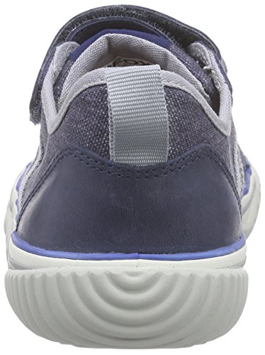 Geox J Australis A, Baskets Basses Garçon Bleu (C0661)