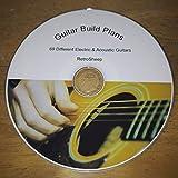 Construction Plans Guitare électrique Gibson acoustique, Fender, Jésus-Christ. riche, Ibanez, Jackson,