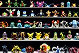 #9: Eduble Pokemon Action Figure - 24Pcs Set