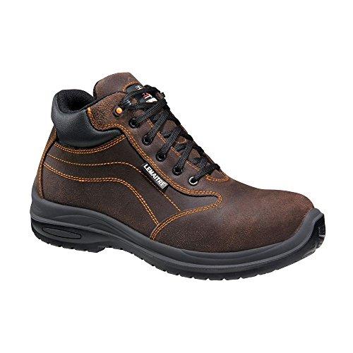 Lemaitre Chaussures de Sécurité Montantes Falcon S3 Ci SRC 100% Non Métalliques Marron
