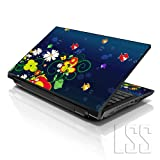 LSS 15 39,62 cm Art Sticker Skin Notebook 33,78 cm 35,56 cm 39,62 cm 40,64 cm HP Dell für Vinyl Lenovo Apple Asus Acer (inklusive 2 gratis Wrist Pad) Compaq Fischpfanne Ocean