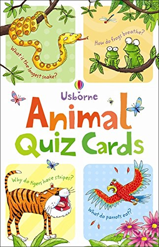 Animal Quiz: Quiz Cards (Activity and Puzzle Cards) por Simon Tudhope