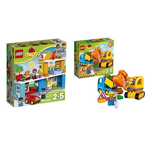 LEGO Duplo 10835 - Familienhaus, Spielzeug für drei Jährige &  Duplo 10812 - Bagger und Lastwagen, Ideales Geschenk für 2 Jährige - Lego-kits Armee