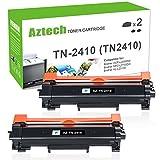 (ohne Chip) Aztech 2 Pack Kompatibel für Brother TN2410 TN 2410 TN-2410 (TN2420 TN 2420 TN-2420) Toner für Brother MFC-L2710DW HL-L2310D HL-L2375DW HL-L2350DW HL-L2370DN MFC-L2710DN MFC-L2730DW MFC-L2750DW DCP-L2510D DCP-L2530DW DCP-L2550DN