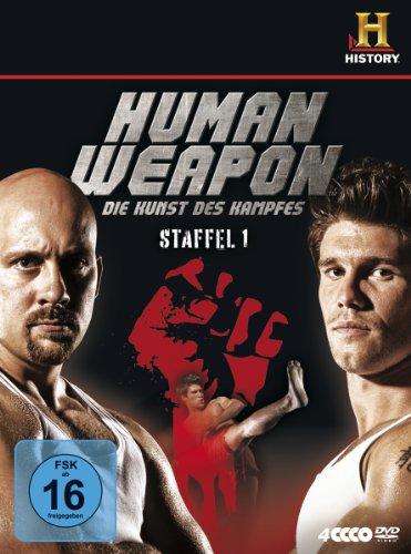 Human Weapon - Die Kunst des Kampfes, Staffel 1 [4 DVDs] -