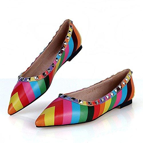 le donne sono le scarpe di colore ha le scarpe casual le scarpe per donne single rivet,colore,44 45