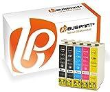 Bubprint 5 Druckerpatronen kompatibel für Epson T1291 T1292 T1293 T1294 für Stylus SX235W SX420W SX425W SX430W SX435W Office B42WD WorkForce WF-7515