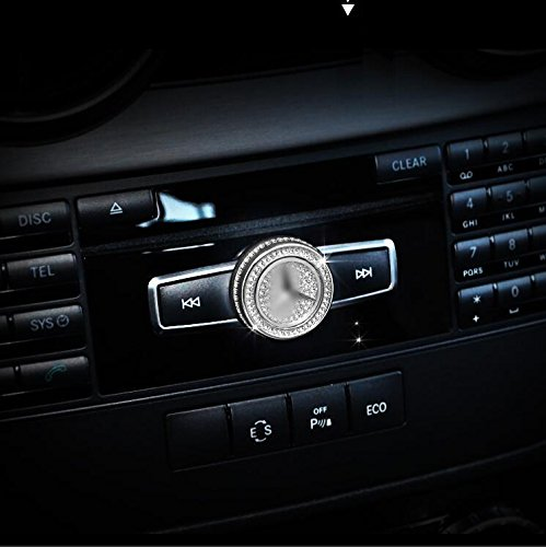E247 Dreht Knopf Abdeckung Kristall auto Emblem car für B C E S GLA GLK CLA CLS (Emblem-knöpfe)