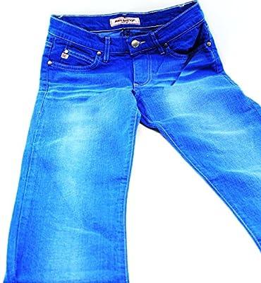 Miss Sixty Women's Flared Plain Jeans Blue Royalblau 9