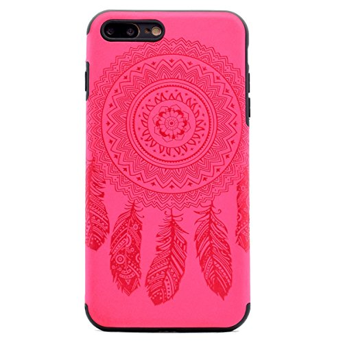 Custodia inShang cover per iPhone 7 Plus 5.5 Cellulare,super slim e leggero TPU materiale Cover posterior stili per iPhone7 Plus 5.5 inch Rose chimes