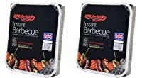 2 X Bar-Be-Quick Instant Barbecue packs