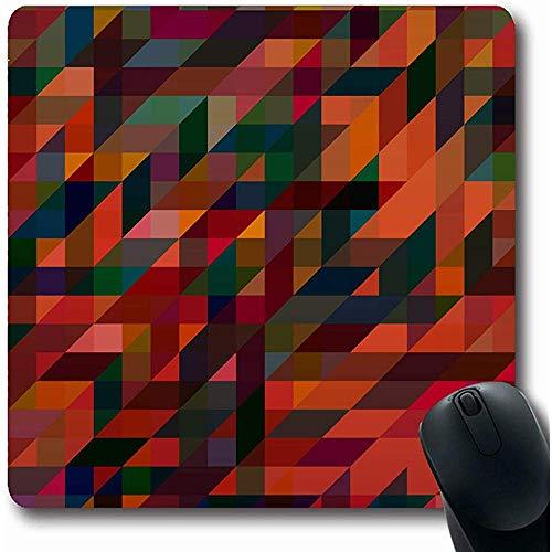 Schreibtischunterlage,Gewidmet Apk Abstrakte Farbe Neue Farbmischung Bohemian Canvas Cells Farbige Komplexe Rutschfeste Gaming Mouse Pad Gummimatte, 25X30 Cm -