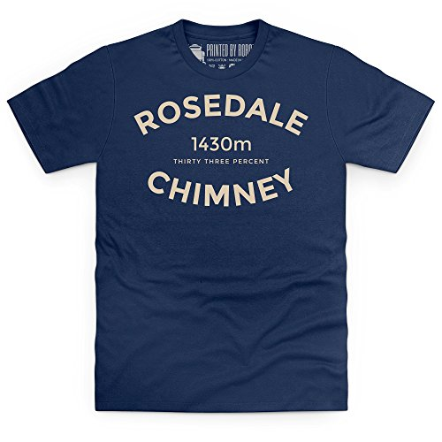 Cycling - Rosedale Chimney T-Shirt, Herren Dunkelblau