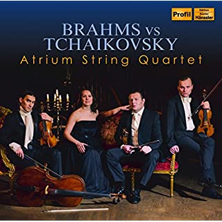 Atrium String Quartet: Brahms vs Tchaikovsky