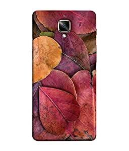 Snapdilla Designer Back Case Cover for OnePlus 3T :: OnePlus 3 T :: One Plus 3T (Season Leafs Forest Colorful Plant Background)