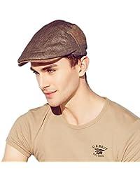 Kenmont été hommes homme gavroche casquette de chauffeur de taxi de pointe pare-soleil lierre chapeau