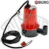 Pompe électrique submersible 12V Yacht 25mm pour eaux claires et eau de puits
