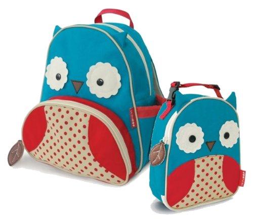 Skip Hop Zoo mochila y bolsa de infantiles de la niños Combo–búho