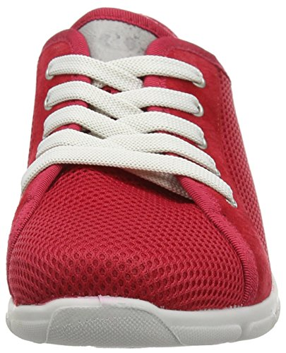 ROMIKA Traveler 06, Baskets Basses femme Rouge - Rouge (400)
