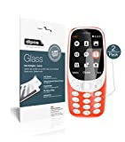 Nokia 3310 Protection ecrán - 2x dipos Verre souple Film Protecteur 9H