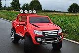 SL Lifestyle Kinderauto Elektroauto Ford Ranger Vollausstattung R/C Hier mit großem12V/10Ah Akku 2 Motoren Kinder Elektroauto mit original Lizenz