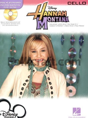 hal-leonard-instrumental-play-along-hannah-montana-cello-partituras-cd