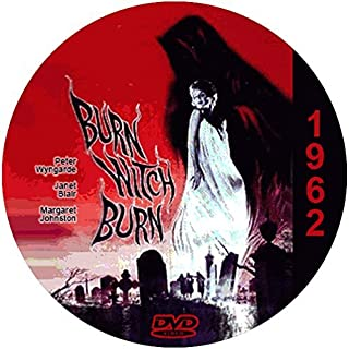 Burn Witch Burn (1962) Classic Sci-fi and Horror Movie DVD-R by Margaret Johnston
