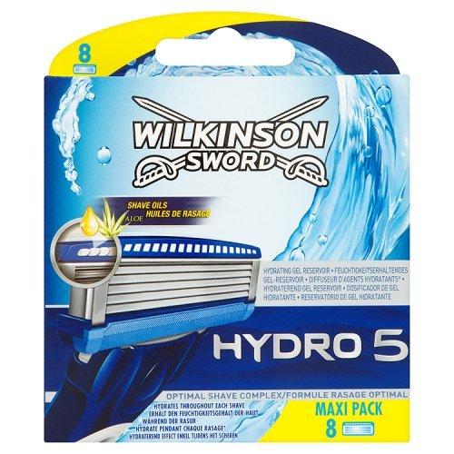 Wilkinson Sword Hydro 5 Razor Blades, 8 Blades