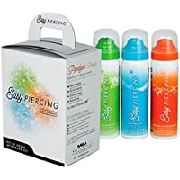 eeddoo Easypiercing - Pflegeset - 3X 50 ml - 20 Kompressen (Piercing Pflege Spray Care Tattoopflege) preisvergleich bei billige-tabletten.eu