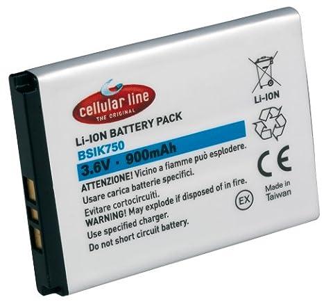 Cellular Line Li-Ion Akku, 900mAh, für Motorola RAZR V6 maxx und baugleiche