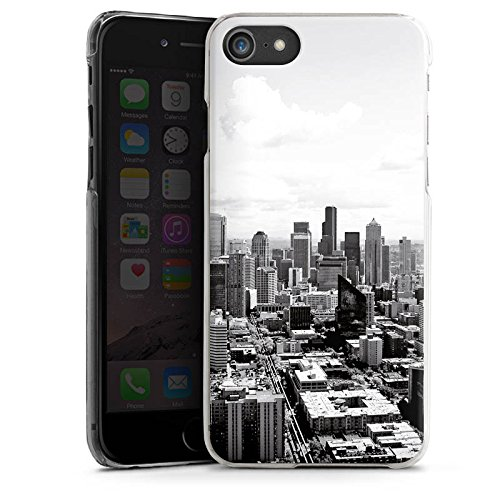Apple iPhone 7 Silikon Hülle Case Schutzhülle City Stadt Skyline Hard Case transparent