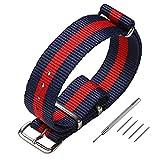 Cinturino orologio NATO, cinturini cinturini in nylon cinturino Zulu multicolor larghezza 18mm 20mm 22mm CHIMAERA