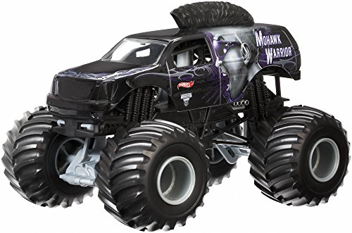 Hot Wheels Monster Jam Mohawk Warrior Die-Cast Vehicle, 1:24 Scale by Hot Wheels