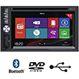 "TAKARA CDD1887BT Autoradio 2DIN 6,2"" bluetooth multimédia DVD"