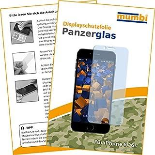 mumbi 3D Touch Panzerglasfolie iPhone 6 6s Glasfolie Hartglas 9H (bewusst kleiner als das Display, da dieses gewölbt ist) (B010PVNF5U) | Amazon price tracker / tracking, Amazon price history charts, Amazon price watches, Amazon price drop alerts