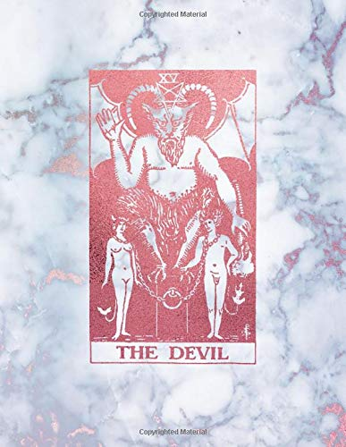 The Devil: Dot Grid Notebook - Radiant Marble and Rose Gold Design   8.5 x 11 - A4 Notebook   Bullet Journal (Marble and Rose Gold - Dotted Grid Notebook, Band 1)