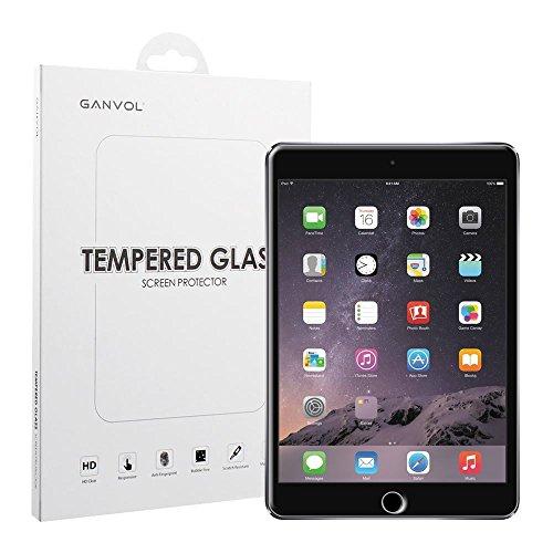Ganvol Panzerglas für Apple iPad Mini 1 2 3 Panzerfolie Hartglas Glasfolie Echtglasfolie Panzerglasfolie - Protector 2 Screen Ipad Mini