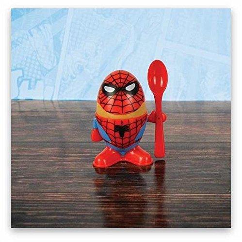 Marvel Comics Spiderman Eierbecher und Toastschneide [Edizione: Germania]