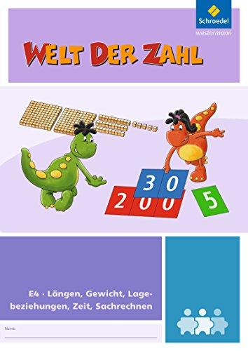 Welt der Zahl - I-Materialien: Längen, Gewicht, Lagebeziehungen, Zeit, Sachrechnen (E4)