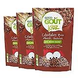 Good Goût Kidz Céréales Muesli Chocolat Bio Dès 3 Ans 300 g - Lot de 3