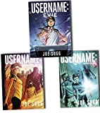 Joe Sugg Username 3 Books Collection Pack Set (Username: Uprising, Username: Regenerated , Username: Evie)