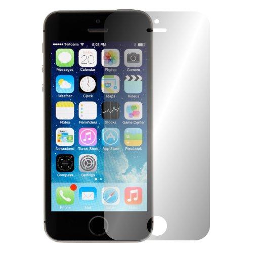 Slabo 2 x Displayschutzfolie kompatibel mit iPhone 5 5S 5C SE Displayschutz Schutzfolie Folie Crystal Clear unsichtbar MADE IN GERMANY