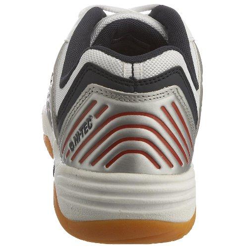 Hi-Tec M100 Sirio Indoor, Chaussures tennis homme Blanc